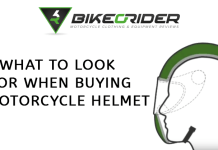 What to look for when buying a motorcycle helmet