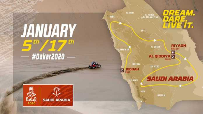 Dakar Rally Saudi Arabia
