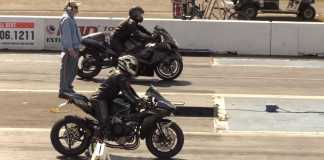 Watch This Turbo Hayabusa Race A Ninja H2