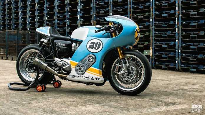Mellow Triumph Thruxton R 1