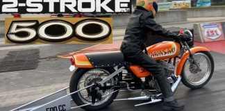 This Kawasaki Two-Stroke Is Still Kicking