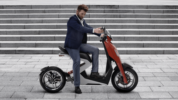 Zapp electric scooter
