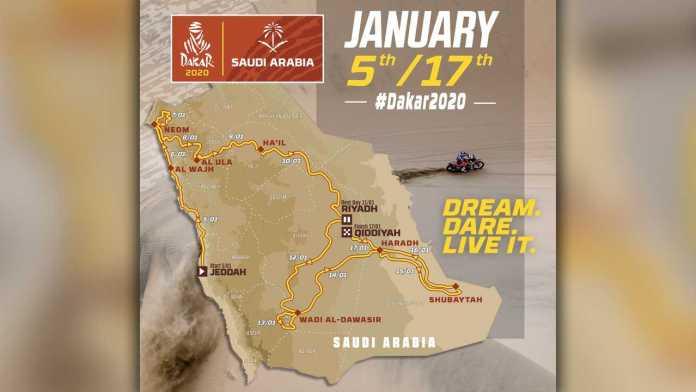 The Dakar 2020 Stages In New Saudi Arabia Setting Revealed