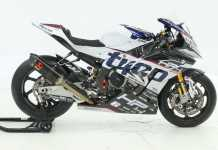 2018 Tyco BMW HP4 Race Prepared For Michael Dunlop