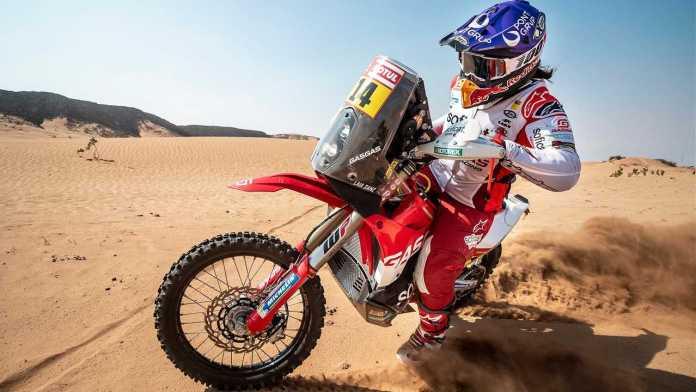 New GasGas RC 450F Dirtbike Gets Dakar Baptism