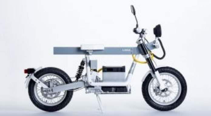 electric motorcycle - cake