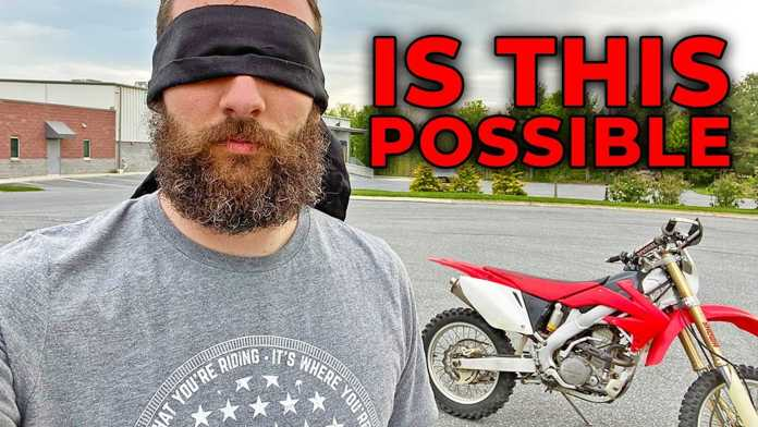 This Is What Happens When You Ride Blindfolded