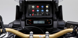 Android AutoTM integration for the CRF1100L Africa Twin