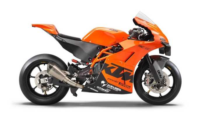 KTM RC 8C - Side, Right