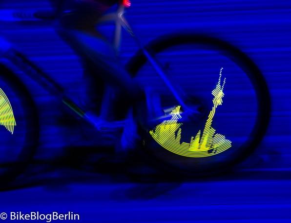 Lichtspiele im Berliner Velodrom