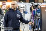 Danny Röhr von Vigmos mit dem weltweit ersten Zeitfahrrad mit Pinion-Getriebe