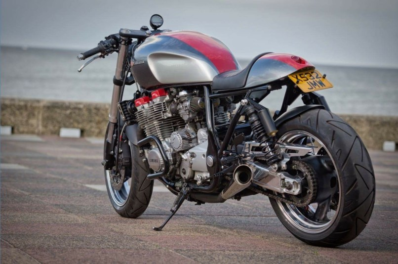 A Traditional Home Of Heavy Shipbuilding And That Engineering Tradition Shows In The Quality This Build Xjr1300 Cafe Racer