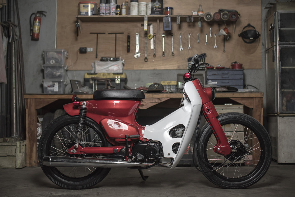 Honda Street Cub By Revolt Cycles Bikebound