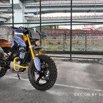 Bmw G310r Scrambler By Dkdesign Bikebound