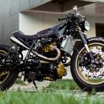 Honda Cx650 Cafe Racer By One Up Moto Garage Bikebound