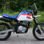 Honda Nx650 Dakar By Cafe Racer Sspirit Bikebound