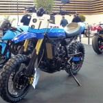 Big One Suzuki Dr800 Scrambler By Yc Design Bikebound