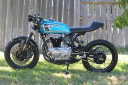 Honda Cb360 Cafe Racer Motorcycle Build By Pukhkan