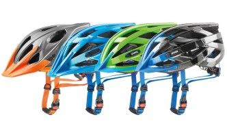 Sportovní cyklistické helmy Uvex