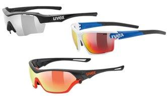 Sportovní sluneční brýle Uvex s výměnnými skly