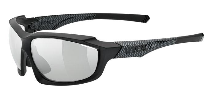 black mat carbon, variomatic® litemirror silver (S1-S3)