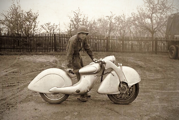 The strange pre-WWII Killinger und Freund motorcycle