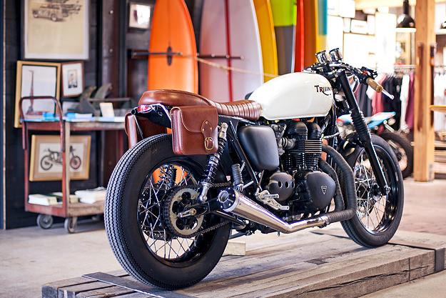 Triumph Bonneville custom by Deus