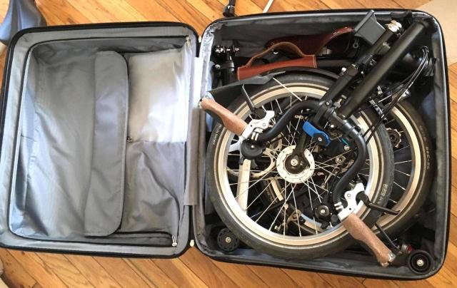 How to Bring a Folding Bike onto an Airplane without ...