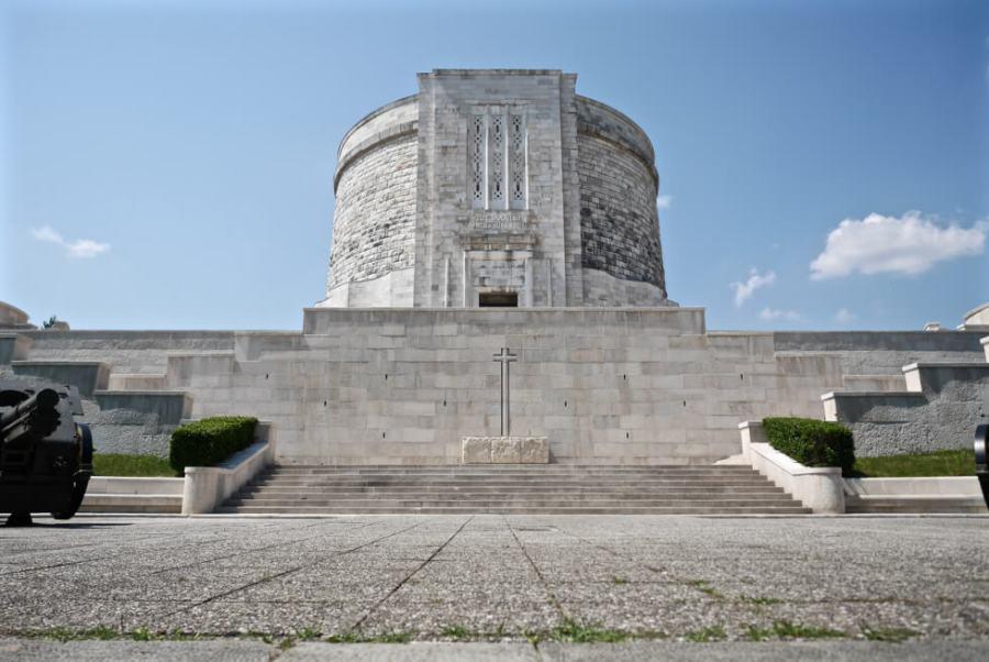 A beautiful stone church in Italy
