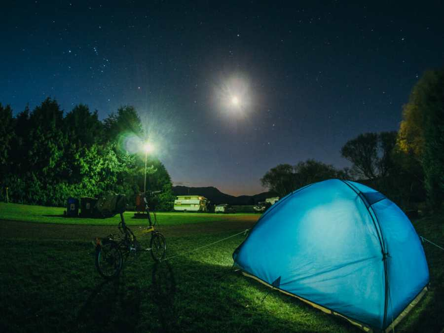 Camping with a Bike Friday tikit
