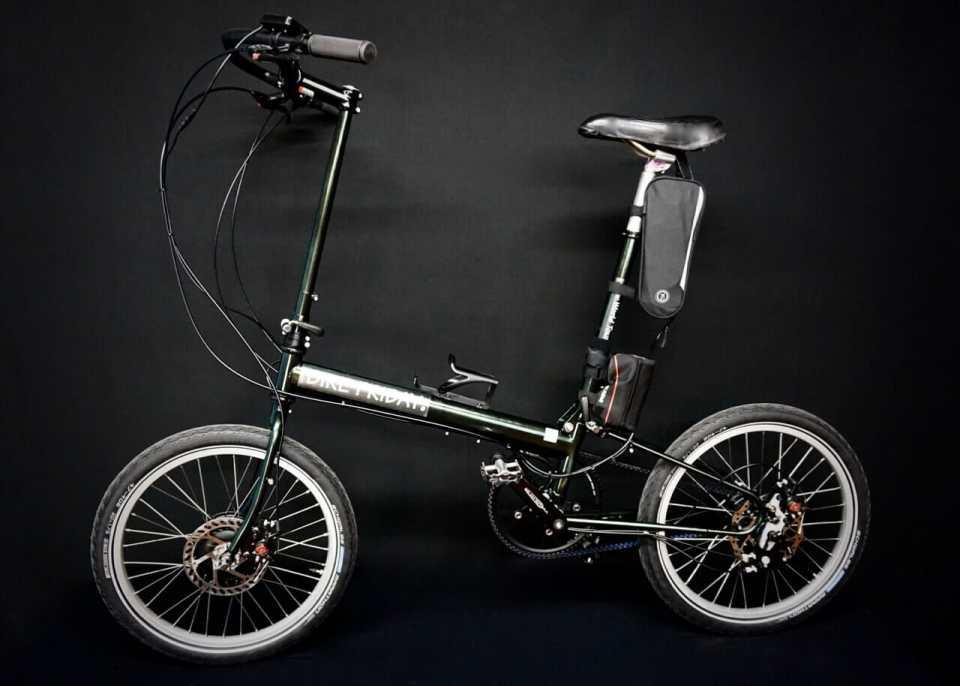 Rohloff hub on a folding e-bike