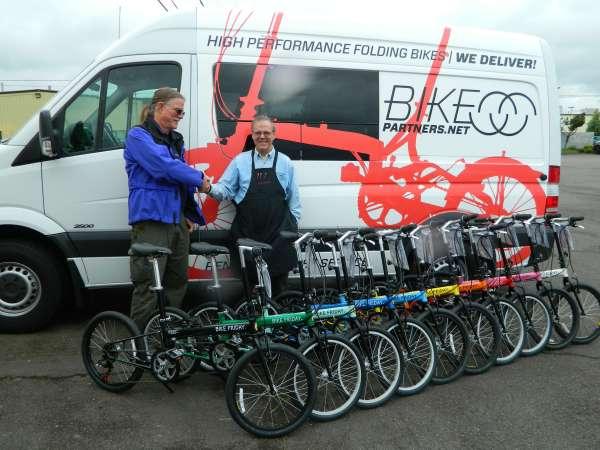 The perfect rental bike fleet from Bike Friday.