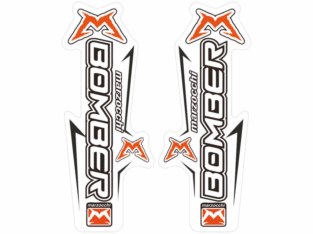Marzocchier Fork Suspension Graphic Decal Kit
