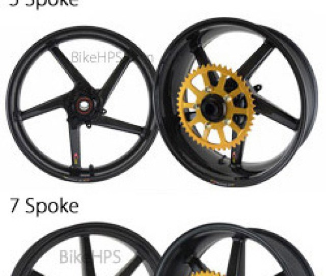 Bst Carbon Fibre 5 Spoke Wheels For Suzuki Gsx R1000 K