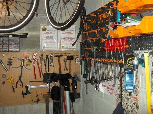 Allestire Unofficina Per Bici In 15 Metri Quadrati
