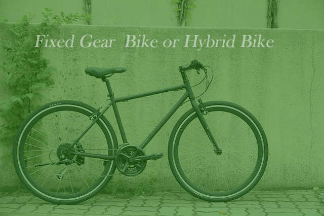 Fixed Gear or Hybrid