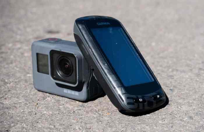 Hazards of Biking with a GoPro or Garmin