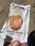 Bike Tour Food - Justins Almond Butter