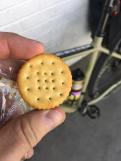 Bike Tour Food Ritz Crackers
