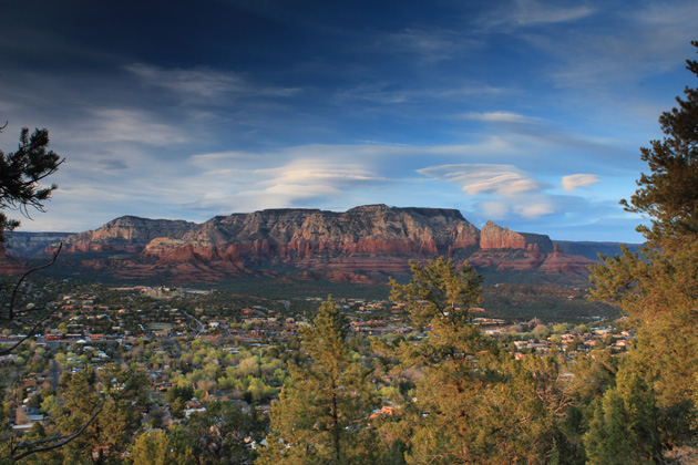 Here's where we spent the summer--Sedona. Only one thing could drag us away--well, make that two things: Whistler and the offer to hit the road on Bike Magazine's Heavy Pedal Tour 2013