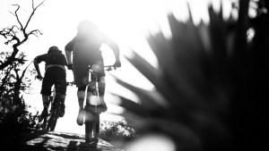 Mountain Biking around Sedona, Arizona during Bike Mag's bible shoot.
