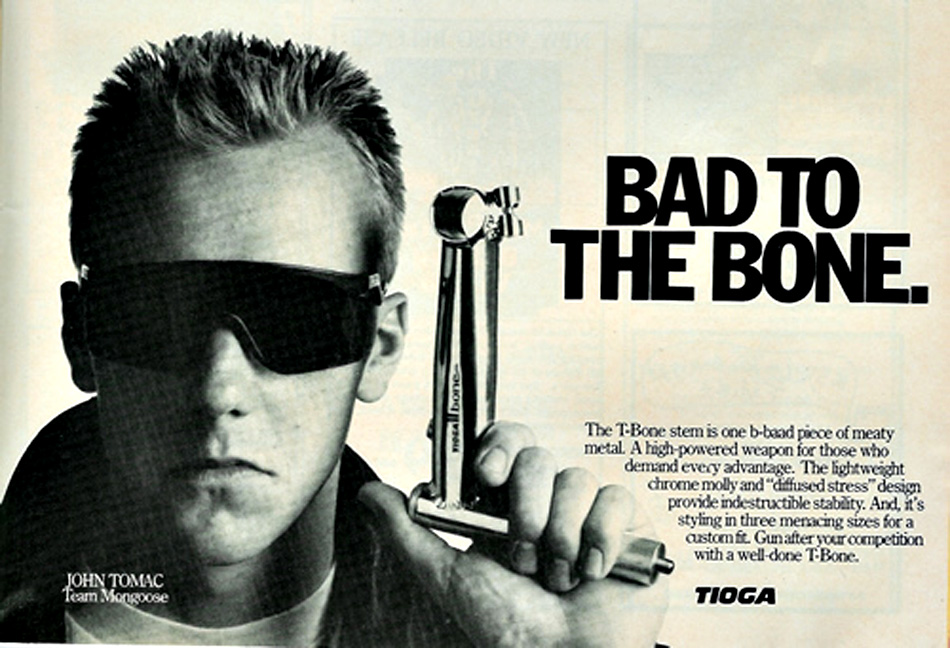 37b52a0a3a John Tomac was a walking billboard for Oakley glasses throughout the 80s and  90s. Hell