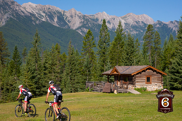 The Nipika Mountain Resort is a remote eco-lodge deep in Kootenay National Park. The lodge produces all its own power on site and boasts over 100 kilometers of singletrack in the summer and Nordic Ski trails in the winter. Today it played host to stage 2 of Singletrack 6. In a modified time trial format, riders went off in waves of 10 based on GC standing, helping to spread the riders out as the course quickly, as they entered tight, narrow singletrack. They rode 40 kilometeters.