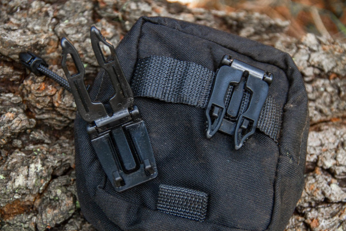 The MOLLE buckles are easy to remove if you have other ideas, or need to replace them.