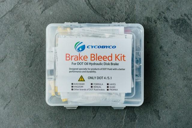 Cycobyco bleed kit box