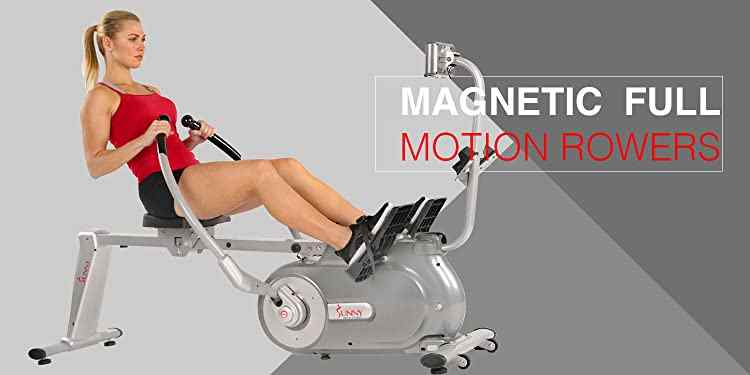 Sunny Health & Fitness Magnetic Rowing Machine SF-RW5864