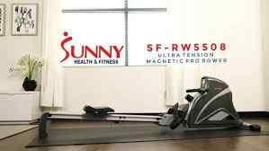 Sunny Health & Fitness Pro Rowing Machine