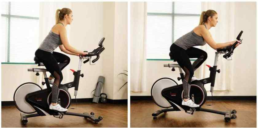 Sunny Health & Fitness Indoor Upright Cycle Bike