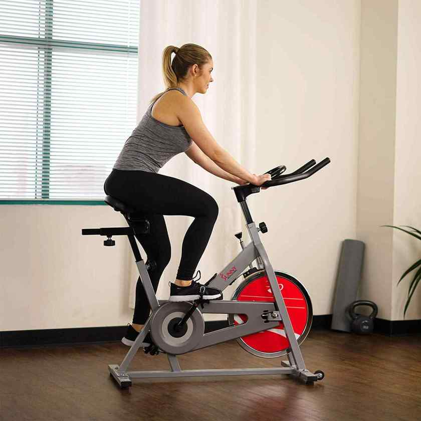 Sunny Health & Fitness Stationary Indoor Cycling Bike- SF-B1001/S