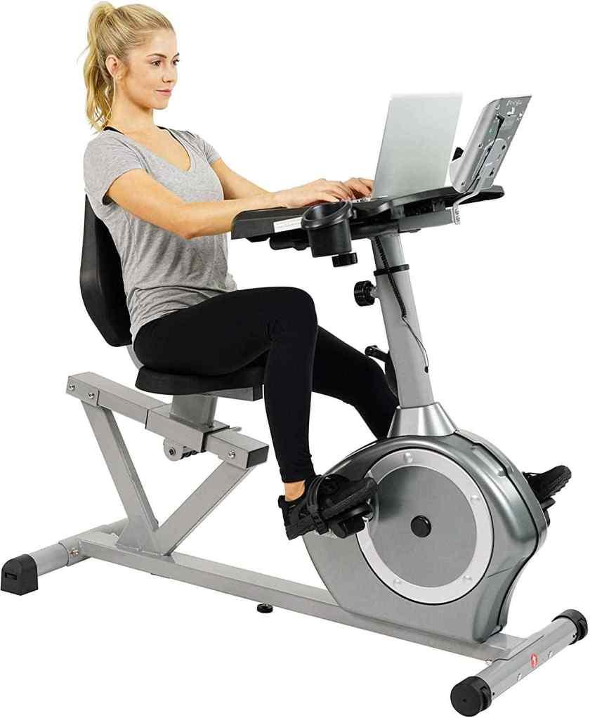 Sunny Health & Fitness SF-RBD4703 Recumbent Desk Exercise Bike